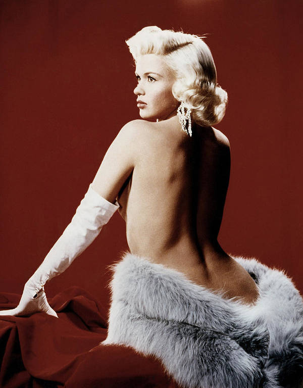 1950s Portraits Poster featuring the photograph Jayne Mansfield, Ca. 1958 by Everett