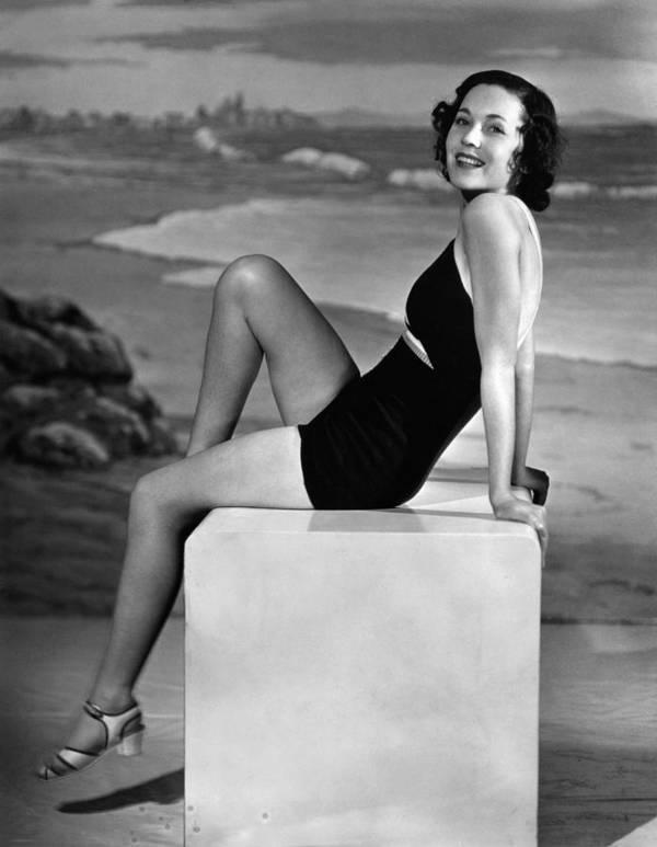 11x14lg Poster featuring the photograph Maureen Osullivan, Ca. 1930s by Everett
