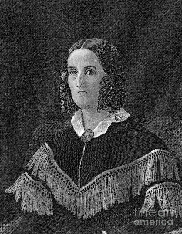 19th Century Poster featuring the photograph Sarah Childress Polk by Granger
