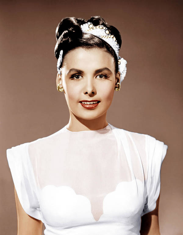 1940s Portraits Poster featuring the photograph Till The Clouds Roll By, Lena Horne by Everett