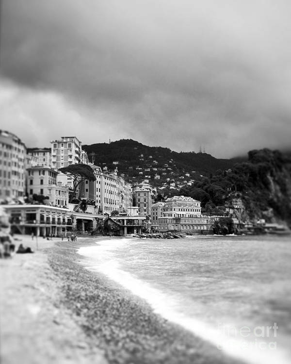 Camogli Poster featuring the photograph In A Dream.... by Ivy Ho