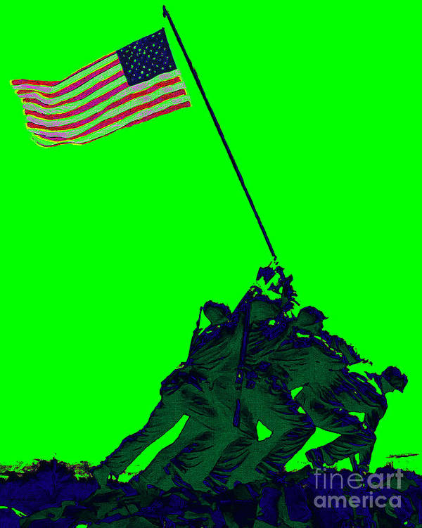 Iwo Jima Poster featuring the photograph Iwo Jima 20130210p180 by Wingsdomain Art and Photography