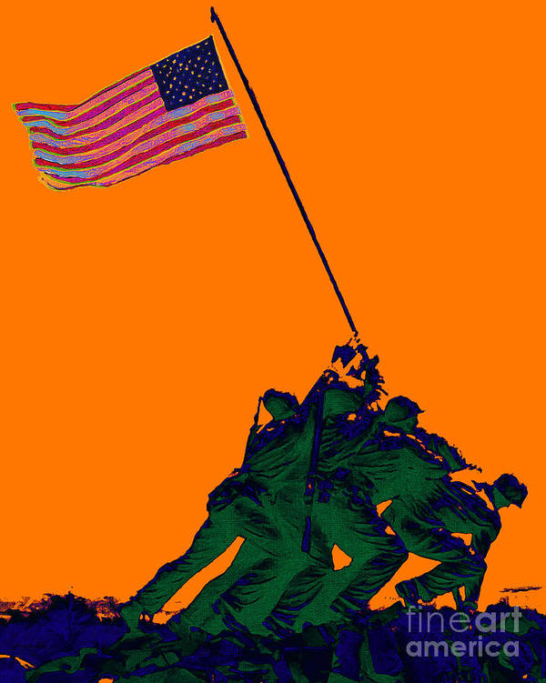 Iwo Jima Poster featuring the photograph Iwo Jima 20130210p88 by Wingsdomain Art and Photography