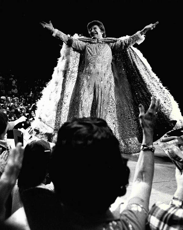 classic Poster featuring the photograph Liberace by Retro Images Archive