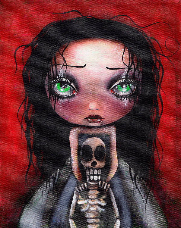 Abril Andrade Griffith Poster featuring the painting Until The End by Abril Andrade Griffith