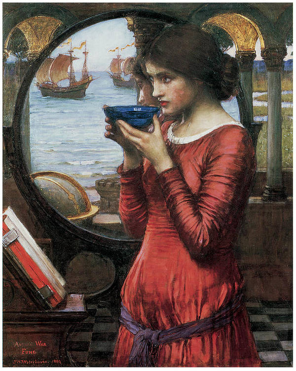John William Waterhouse Poster featuring the painting Destiny by John William Waterhouse