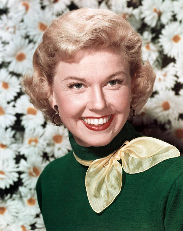 1950s Fashion Poster featuring the photograph Doris Day, Circa 1950s by Everett