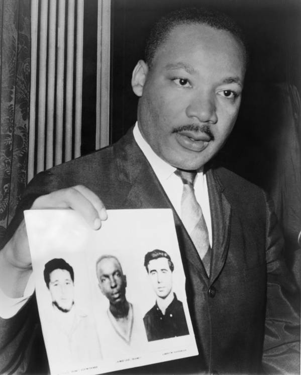 History Poster featuring the photograph Dr. Martin Luther King 1929-1968 by Everett