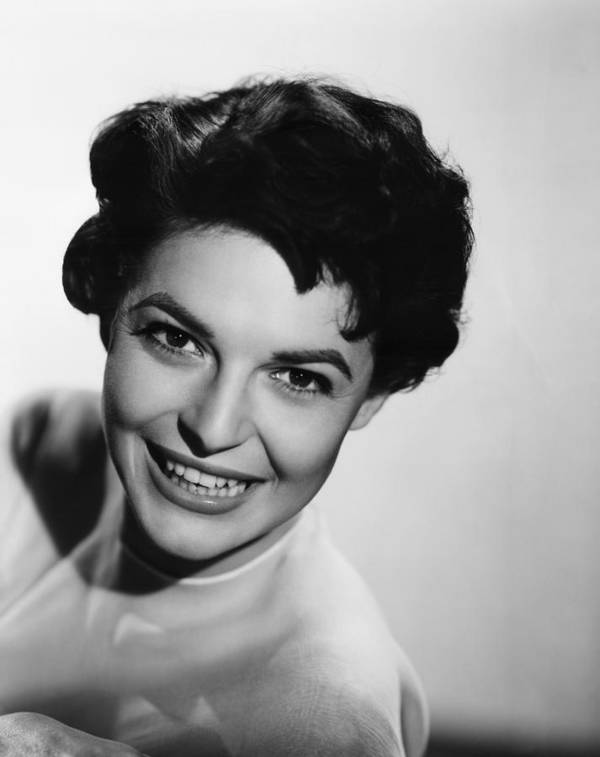 1950s Portraits Poster featuring the photograph Nightfall, Anne Bancroft, 1957 by Everett