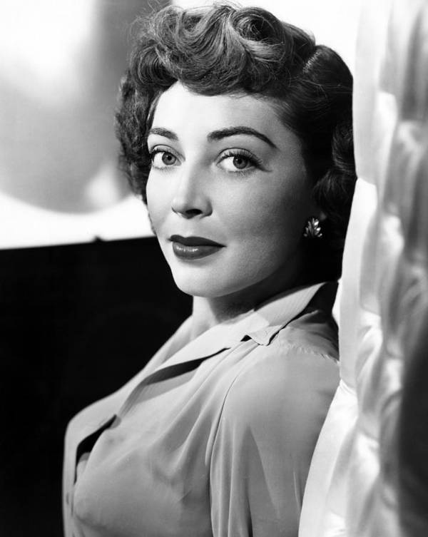 1950s Portraits Poster featuring the photograph The Narrow Margin, Marie Windsor, 1952 by Everett