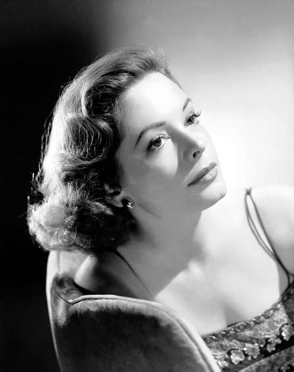 1950s Portraits Poster featuring the photograph The Prisoner Of Zenda, Jane Greer, 1952 by Everett