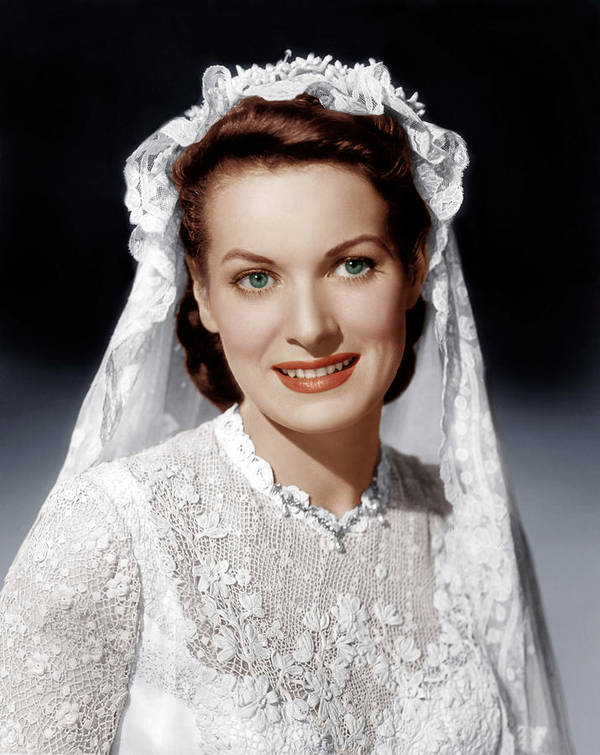 1950s Portraits Poster featuring the photograph The Quiet Man, Maureen Ohara, 1952 by Everett