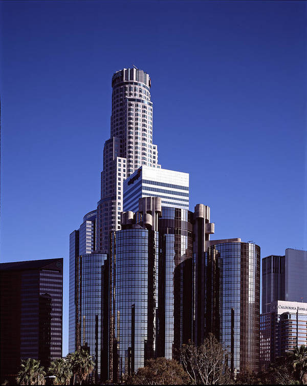 2000s Poster featuring the photograph The Westin Bonaventure Hotel, Built by Everett