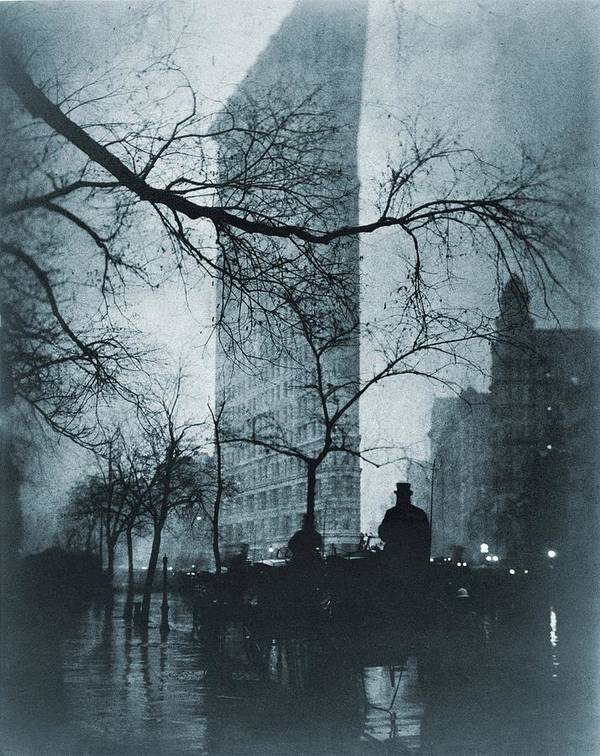 History Poster featuring the photograph The Flatiron Building, New York City by Everett