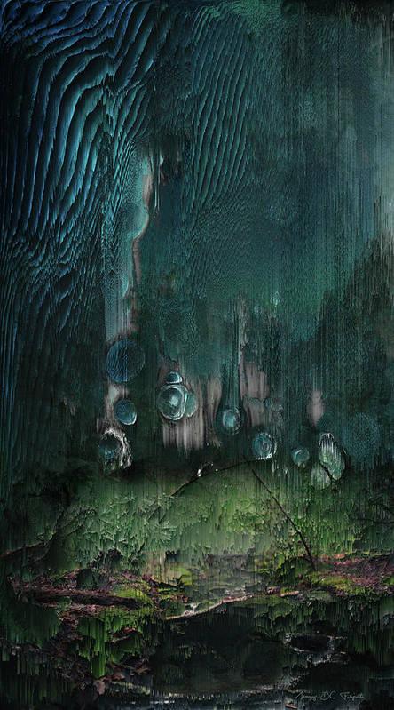 Landscape Poster featuring the digital art Nitrogen cycle by Jenny Filipetti