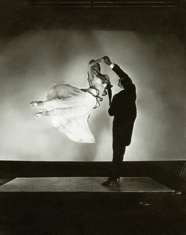 Dance Poster featuring the photograph Antonio And Renee De Marco Dancing by Edward Steichen