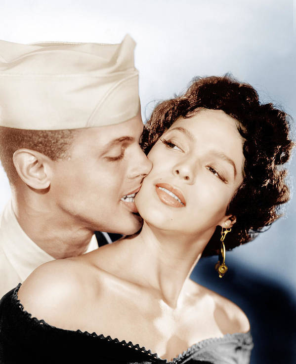 1950s Movies Poster featuring the photograph Carmen Jones, From Left Harry by Everett