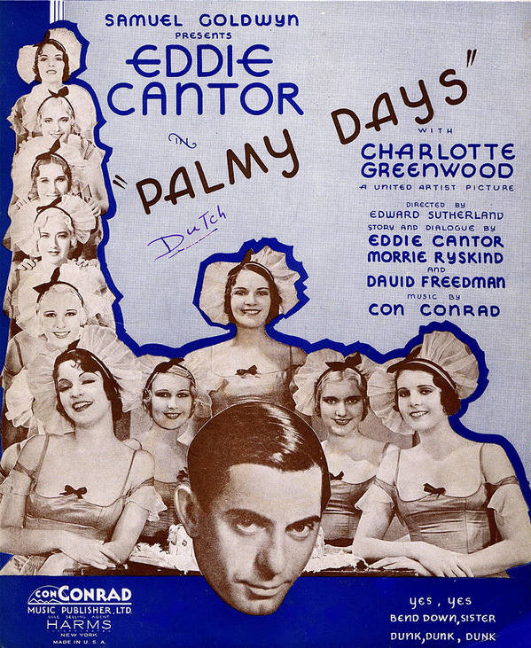 Classic Poster featuring the photograph Palmy Days by Mel Thompson