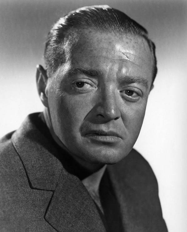 1940s Portraits Poster featuring the photograph The Chase, Peter Lorre, 1946 by Everett