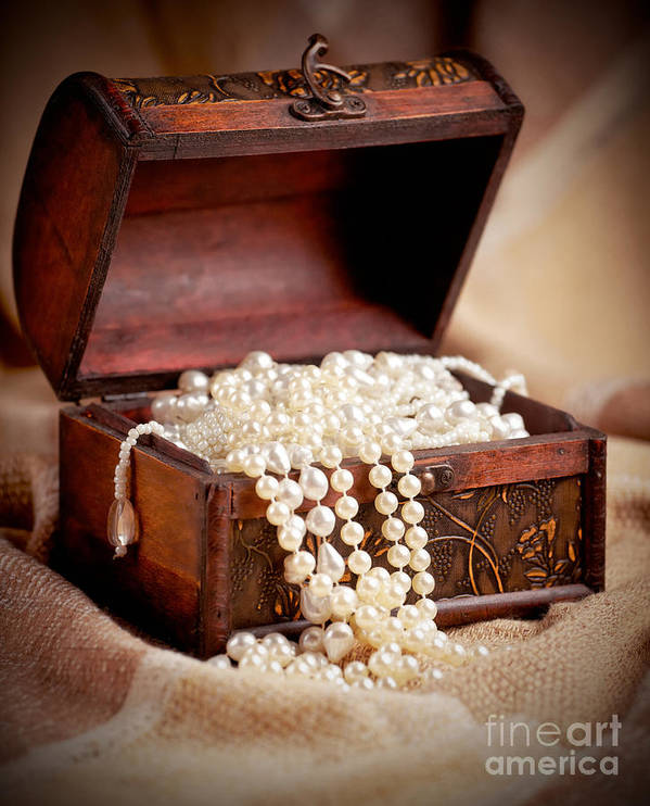 Treasure Poster featuring the photograph Treasure Chest by Gabriela Insuratelu