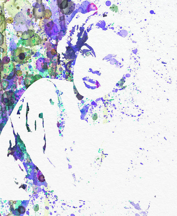 Judy Garland Poster featuring the painting Judy Garland by Naxart Studio