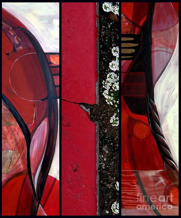Abstract Photography Poster featuring the painting p HOTography 101 by Marlene Burns