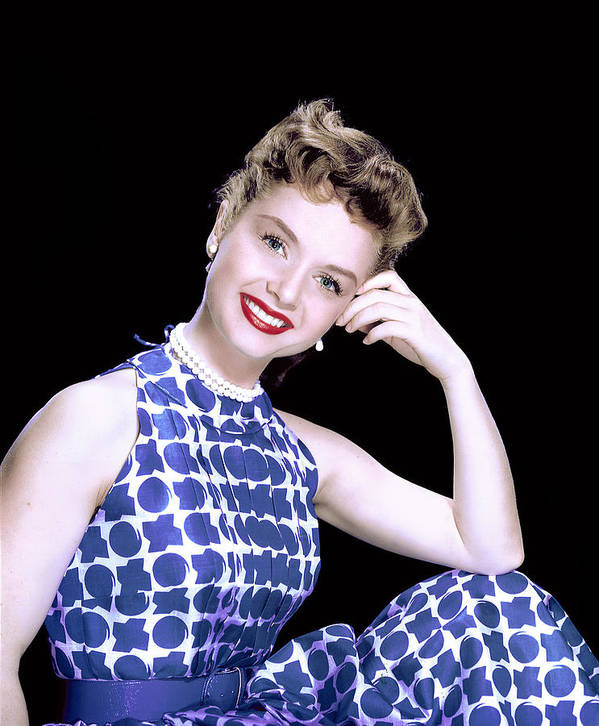 1950s Fashion Poster featuring the photograph Debbie Reynolds, C. 1950s by Everett