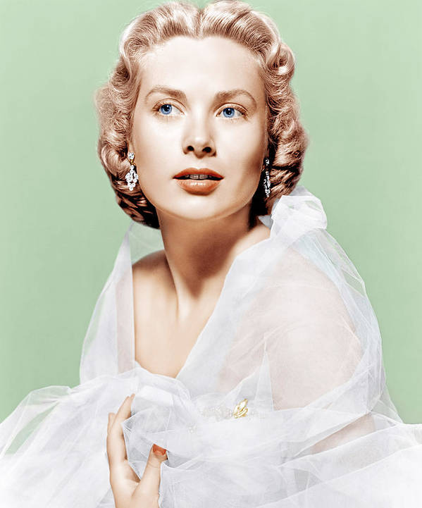 1950s Portraits Poster featuring the photograph Dial M For Murder, Grace Kelly, 1954 by Everett