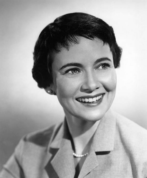 1950s Portraits Poster featuring the photograph Escapade In Japan, Teresa Wright, 1957 by Everett