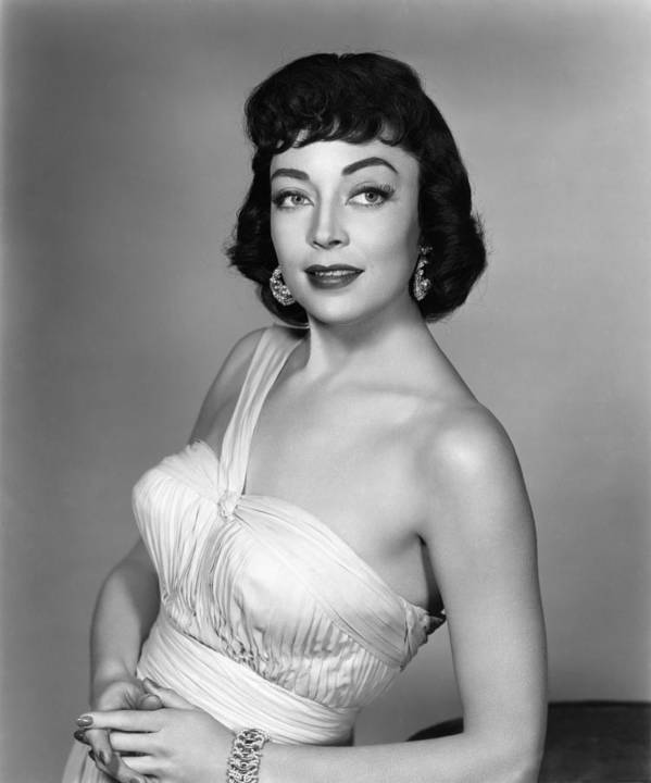 1950s Fashion Poster featuring the photograph Marie Windsor, 1955 by Everett