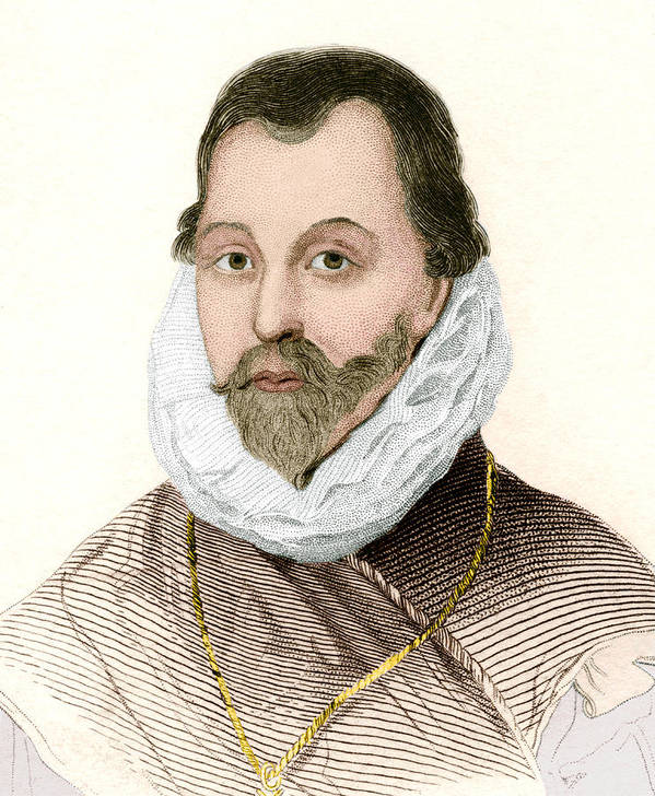 Drake Poster featuring the photograph Sir Francis Drake, English Explorer by Sheila Terry