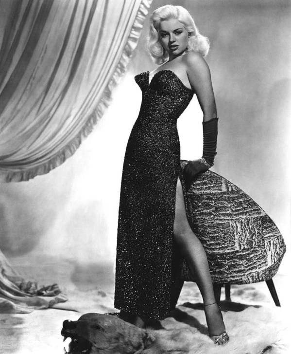 1950s Fashion Poster featuring the photograph Yield To The Night, Aka Blonde Sinner by Everett