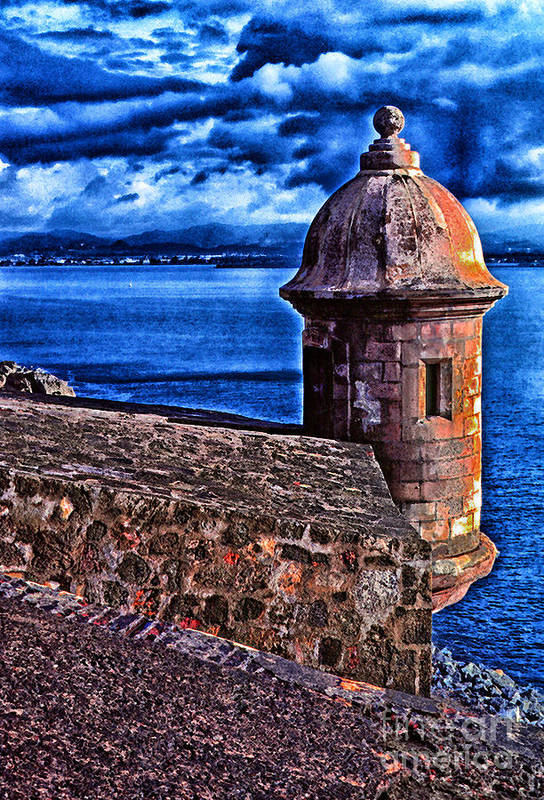 Puerto Rico Poster featuring the photograph El Morro Fortress by Thomas R Fletcher