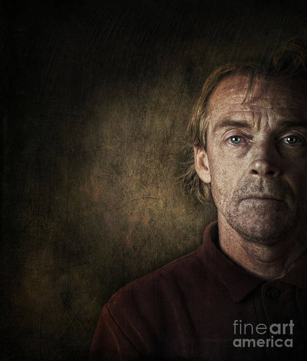 Anguish Poster featuring the photograph Overwhelmed... by Sandra Cunningham