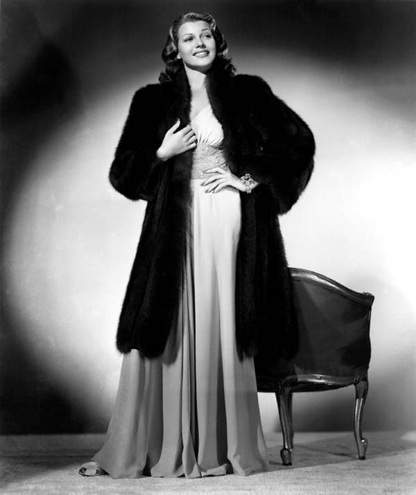 1940s Portraits Poster featuring the photograph Rita Hayworth, 1940 by Everett