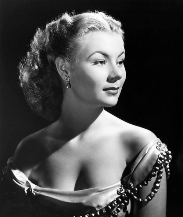 1950s Portraits Poster featuring the photograph The I Dont Care Girl, Mitzi Gaynor by Everett