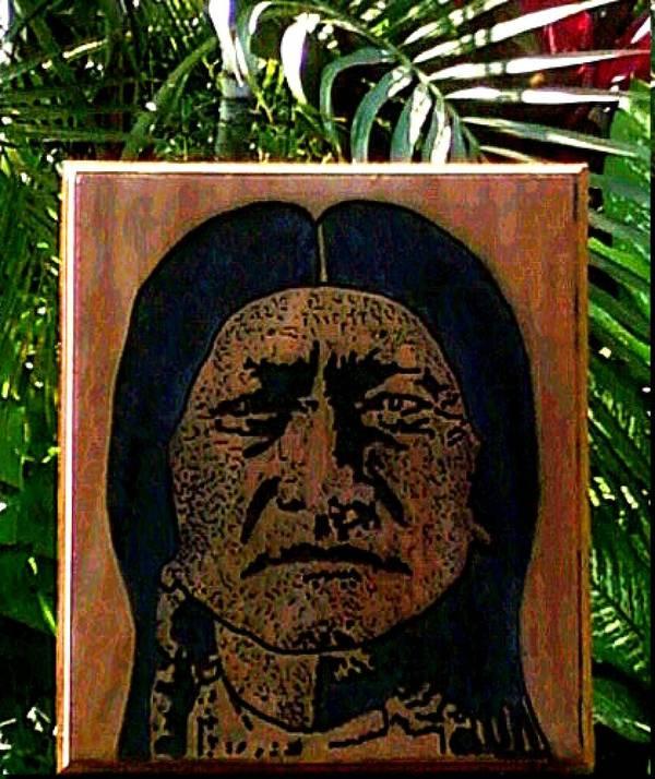 Toro Poster featuring the relief Toro Sentado by Calixto Gonzalez