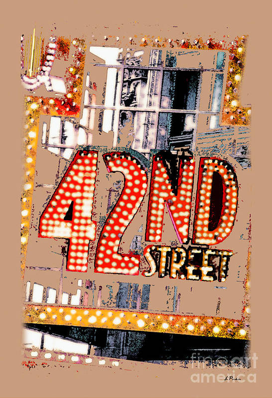 Nyc Poster featuring the photograph Iconic 42nd Street-nyc by Linda Parker