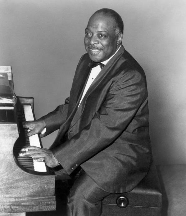 20th Century Poster featuring the photograph Count Basie (1904-1984) by Granger