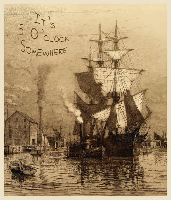 It's 5 O'clock Somewhere Poster featuring the photograph It's 5 O'clock Somewhere by John Stephens