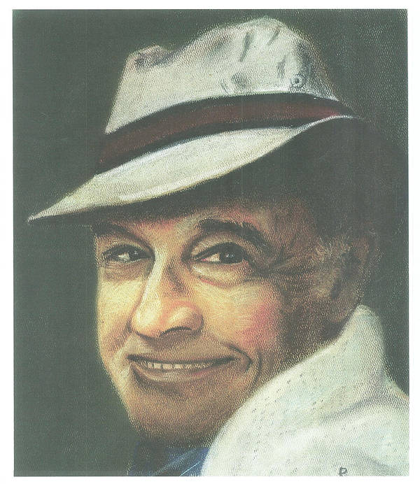 Soft Pastel Portrait Poster featuring the painting Gene Kelly by Ronnie Melvin