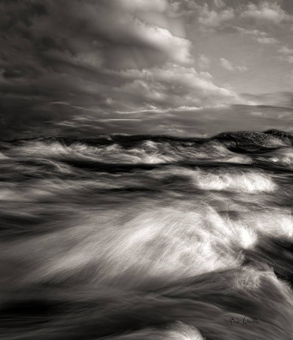 Nature Poster featuring the photograph The Wind And The Sea by Bob Orsillo
