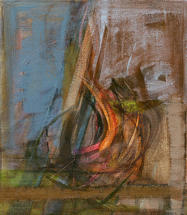 Abstract Poster featuring the painting Rcnpaintings.com by Chris N Rohrbach