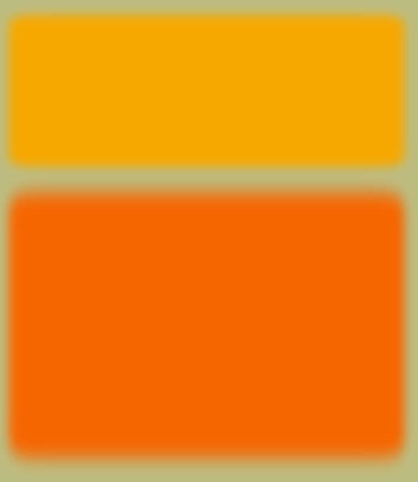 Abstract Poster featuring the painting Abstract Orange And Yellow by Naxart Studio