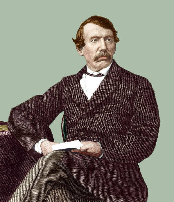 David Livingstone Poster featuring the photograph David Livingstone, Scottish Missionary by Sheila Terry