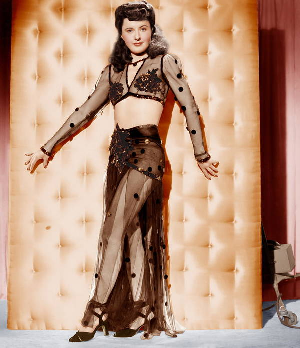 1940s Portraits Poster featuring the photograph Lady Of Burlesque, Barbara Stanwyck by Everett