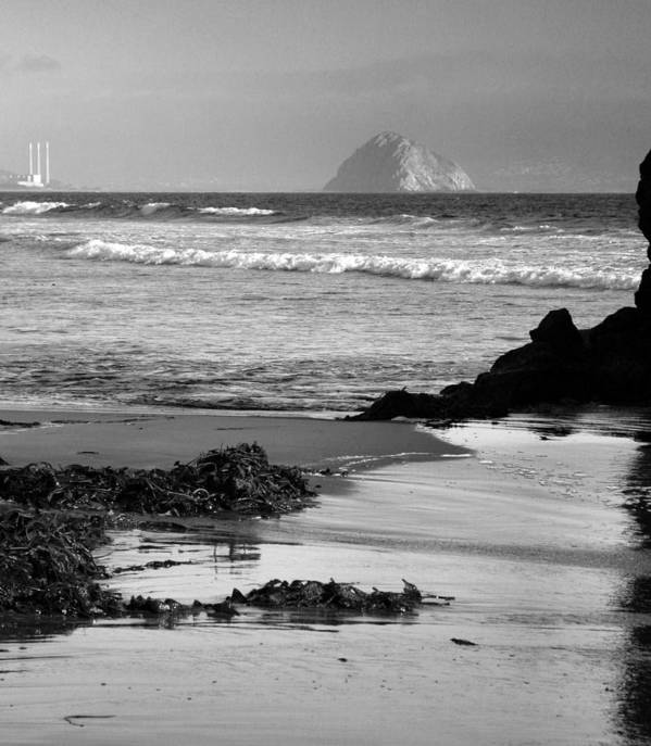 Ocean Poster featuring the photograph Morro Bay Shoreline V by Steven Ainsworth
