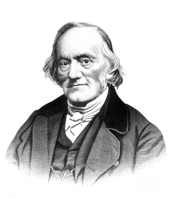 Science Poster featuring the photograph Richard Owen, English Paleontologist by Science Source