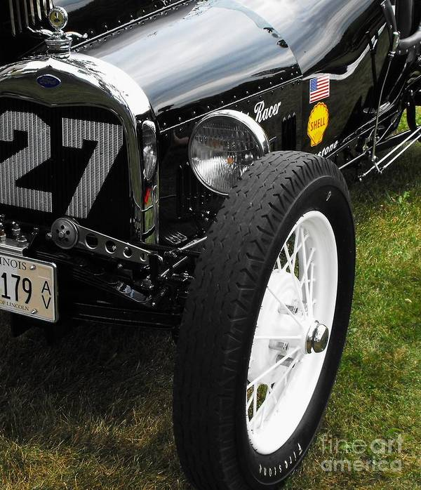 Ford Poster featuring the photograph 1920-1930 Ford Racer by Neil Zimmerman