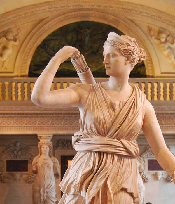 Athena Poster featuring the digital art Athena Statue by Nancy Bradley